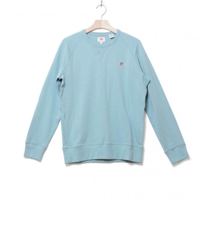 Levis Sweater Original Crew blue cameo L