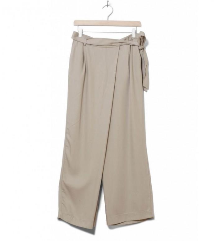 Selected Femme Pants Sfcross beige silver mink XS