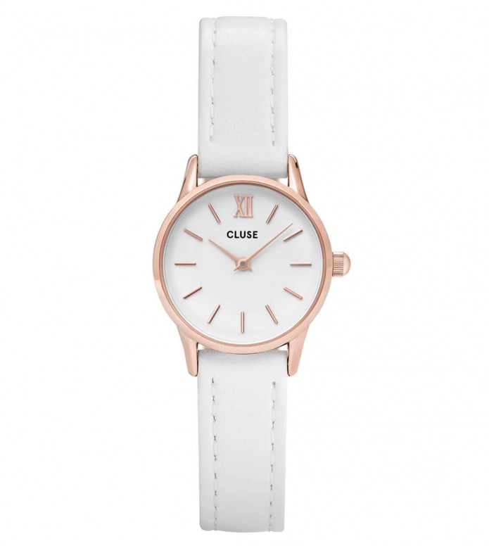 Cluse Cluse Watch La Vedette white/white rose gold