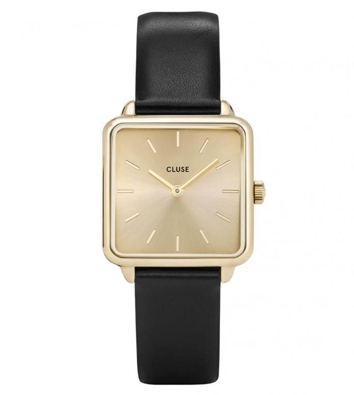 Cluse Cluse Watch La Tetragone black/gold gold