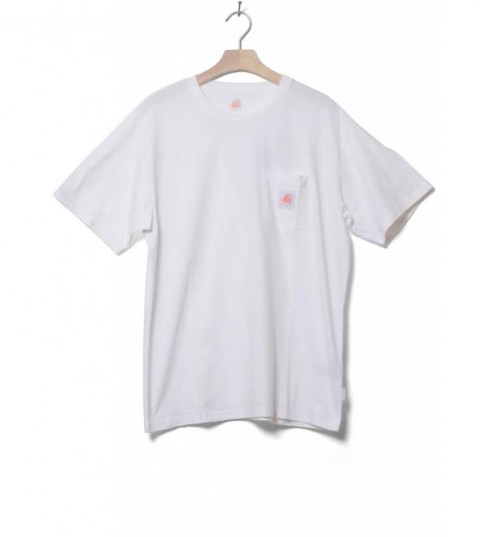 Carhartt WIP X Neu! T-Shirt Pocket white L