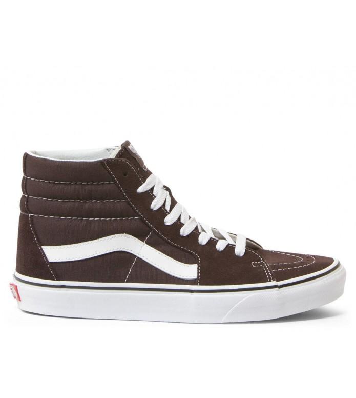 Vans Vans Shoes Sk8-Hi brown chocolate torte/true white