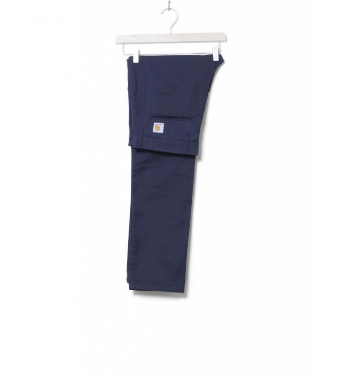 Carhartt WIP Pants Sid Lamar blue dark navy rinsed 30/32