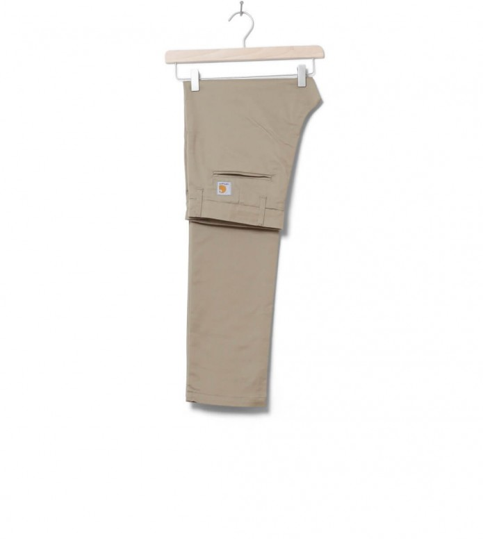 Carhartt WIP Pants Sid Lamar beige leather rinsed 29/32