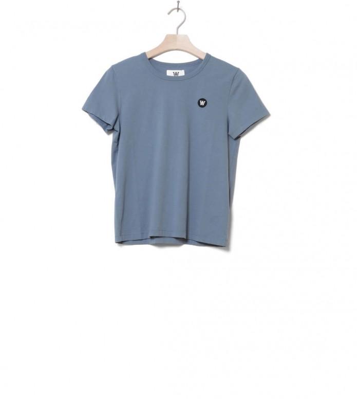 Wood Wood W T-Shirt Uma blue dusty