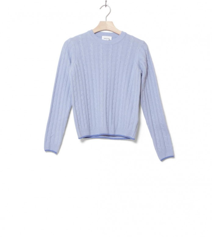 Wood Wood W Knit Pullover Mare blue light S