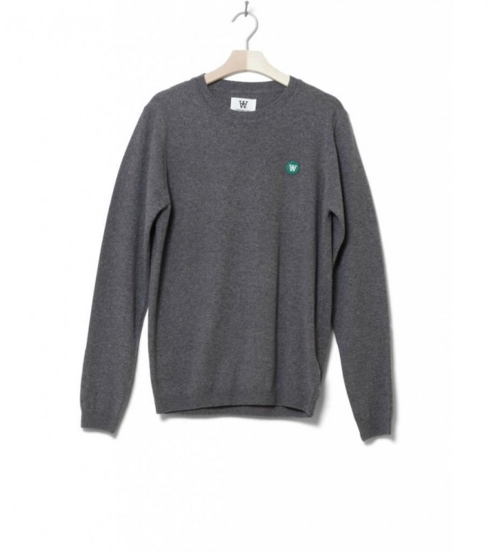 Wood Wood Sweater Sid grey melange S