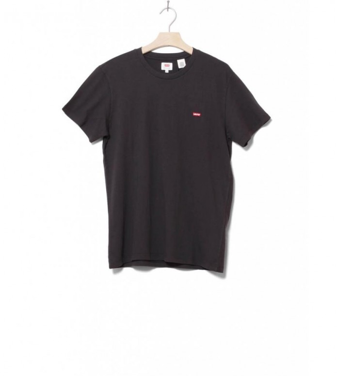 Levis T-Shirt Original Hm black cotton patch S