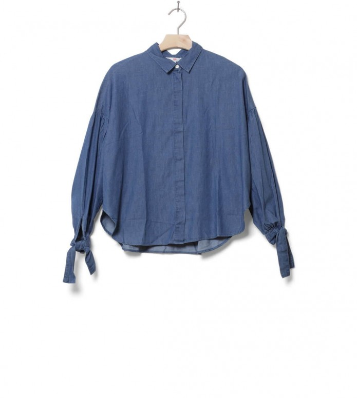 Levis W Shirt Terri blue dark mid wash XS