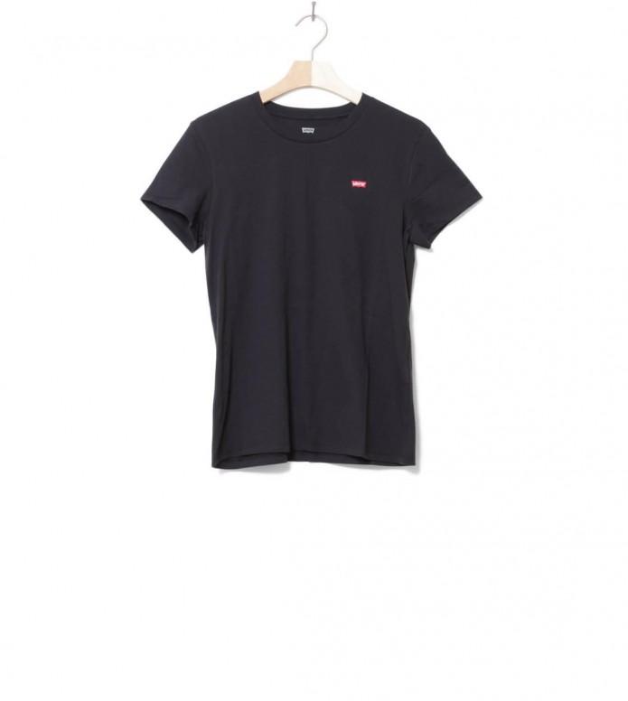 Levis W T-Shirt Perfect Tee black mineral XS