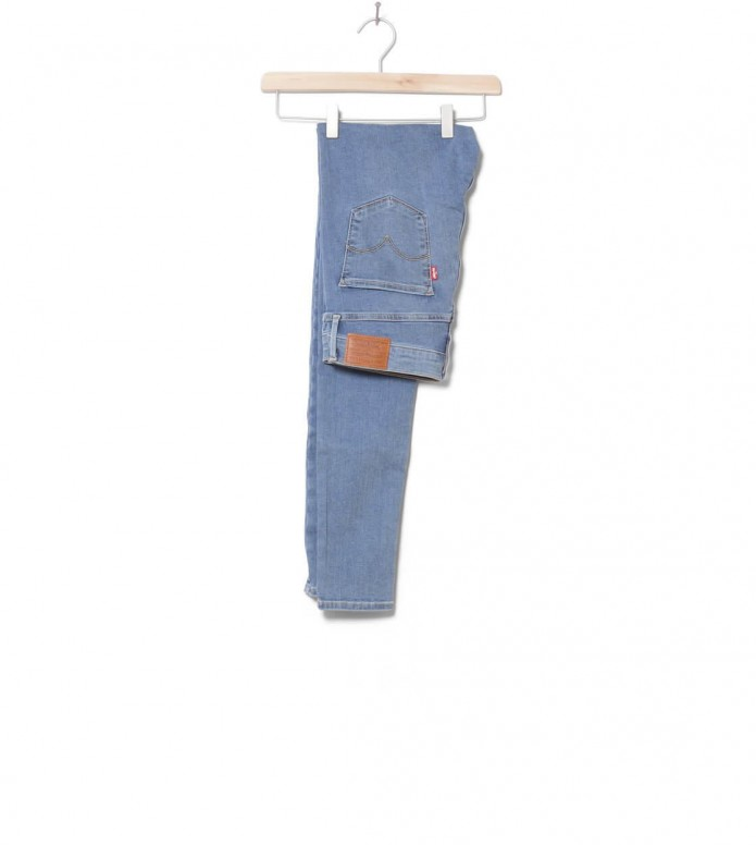 Levis W Jeans 720 High Rise Super Skinny blue superimposed 28/32