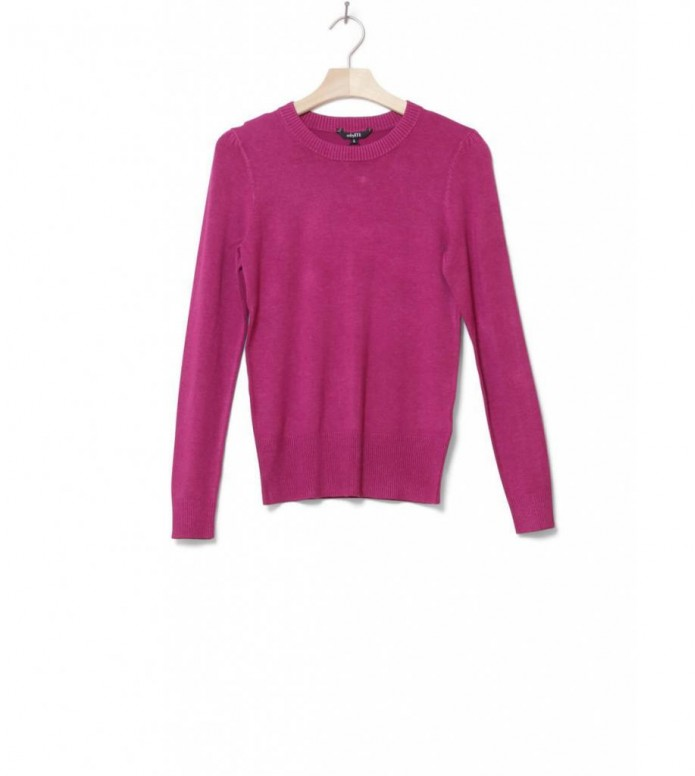 MbyM W Knit Pullover Carna pink raspberry rose melange XS