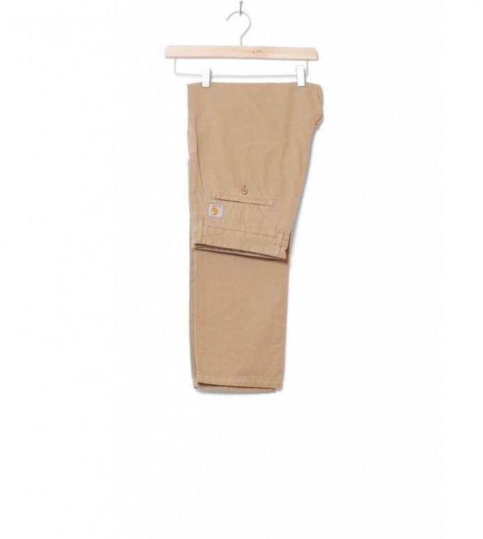 Carhartt WIP Pants Johnson Kingsville beige leather 33/32