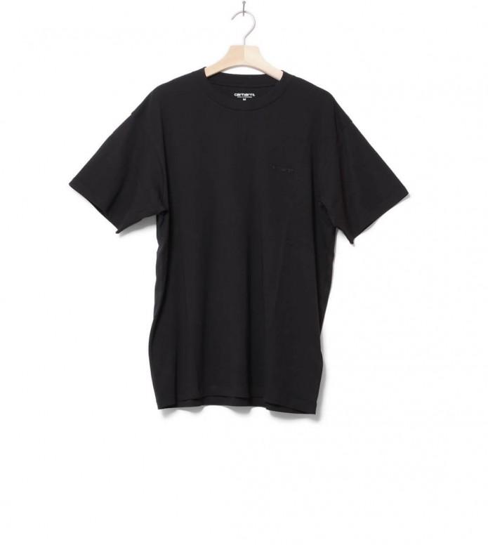 Carhartt WIP T-Shirt Script Embroidery black L