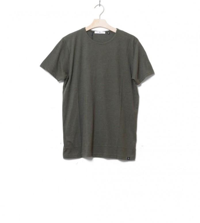 Revolution T-Shirt 1001 green army melange