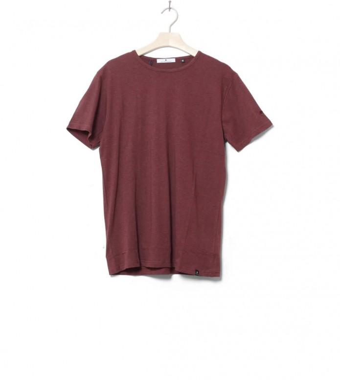 Revolution T-Shirt 1001 red bordeaux melange