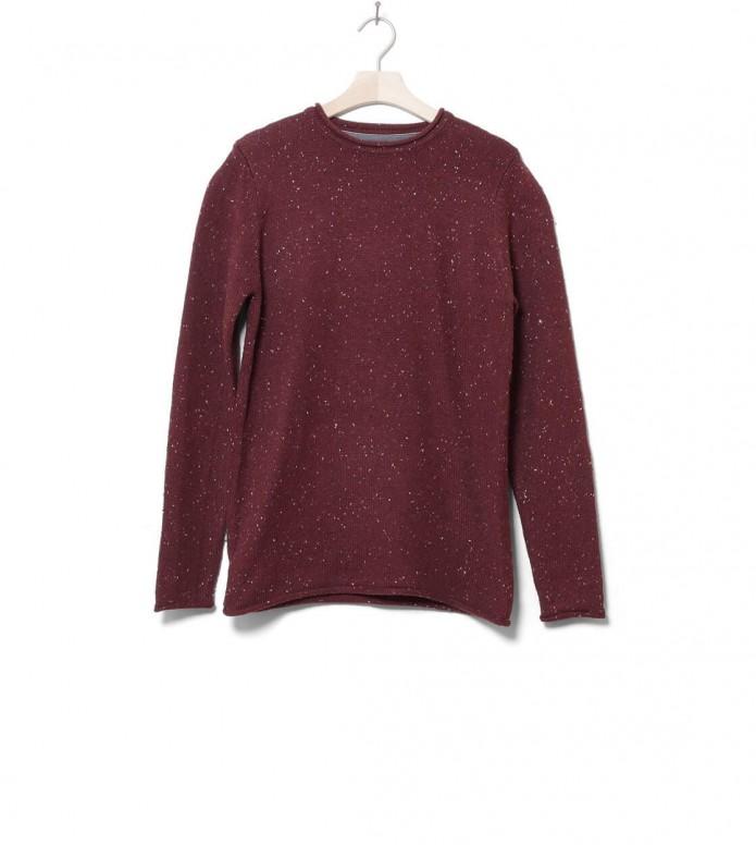 Revolution Knit Pullover 6006 red bordeaux
