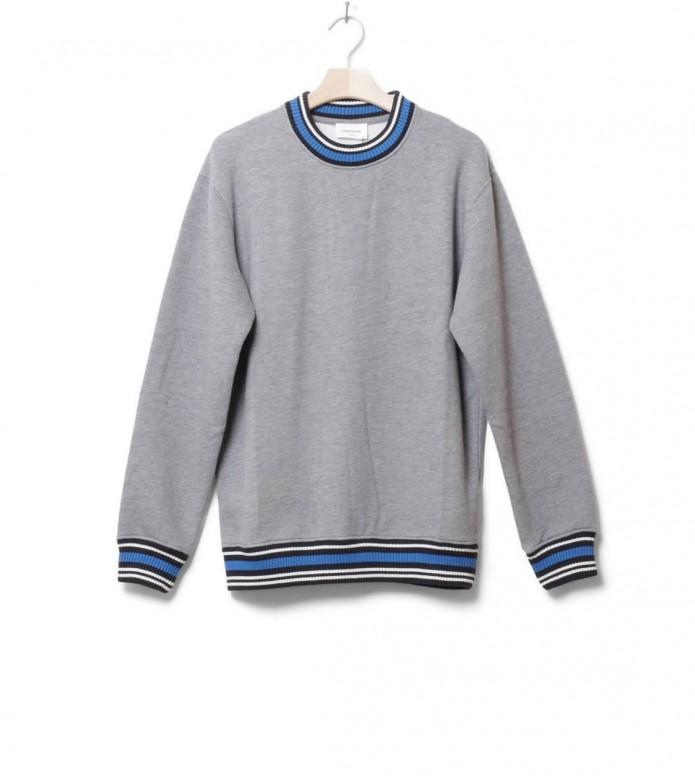 Wood Wood Sweater Nathan grey melang L