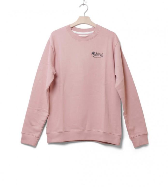 Wemoto Sweater Isle pink powder L