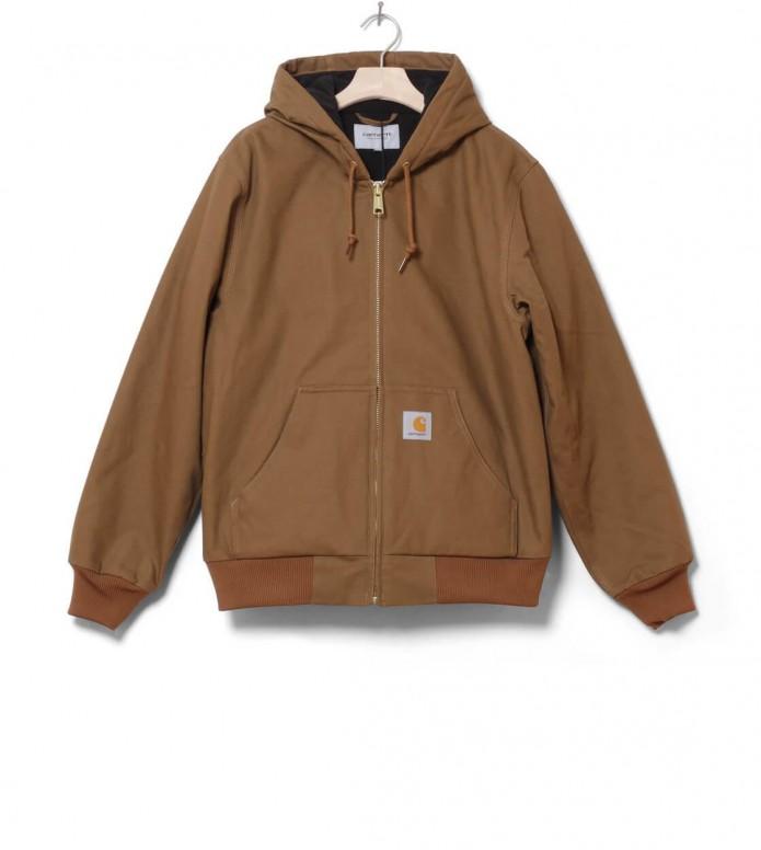 Carhartt WIP Carhartt WIP Winterjacket Active brown hamilton