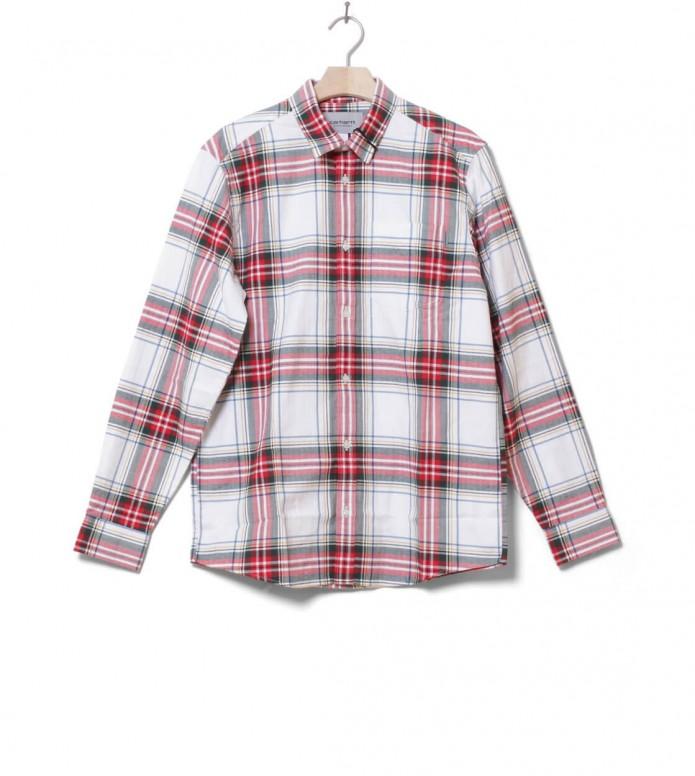Carhartt WIP Shirt Vigo white multi