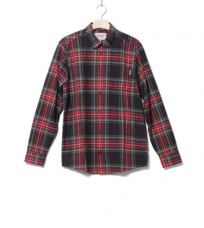 Carhartt WIP Shirt Vigo black multi S