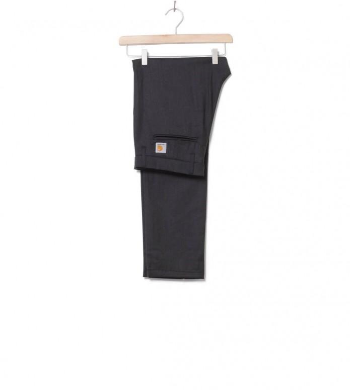 Carhartt WIP Pants Sid Wool black heather 29/32