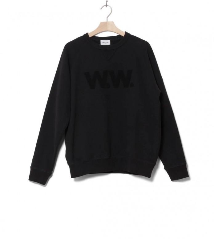 Wood Wood Wood Wood Sweater Hester black