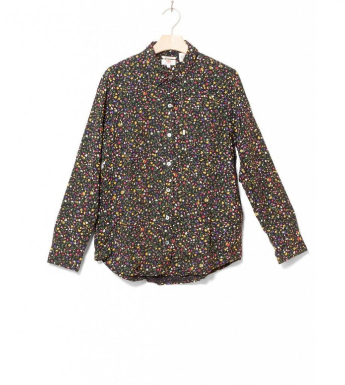 Levis W Shirt Ultimate Boyfriend black secret garden caviar