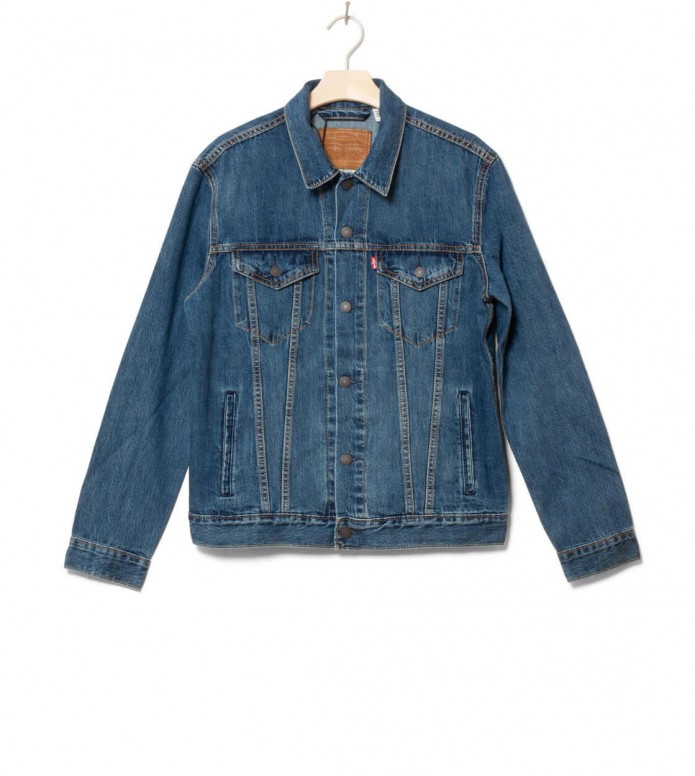 Levis Denimjacket The Trucker blue mayze M