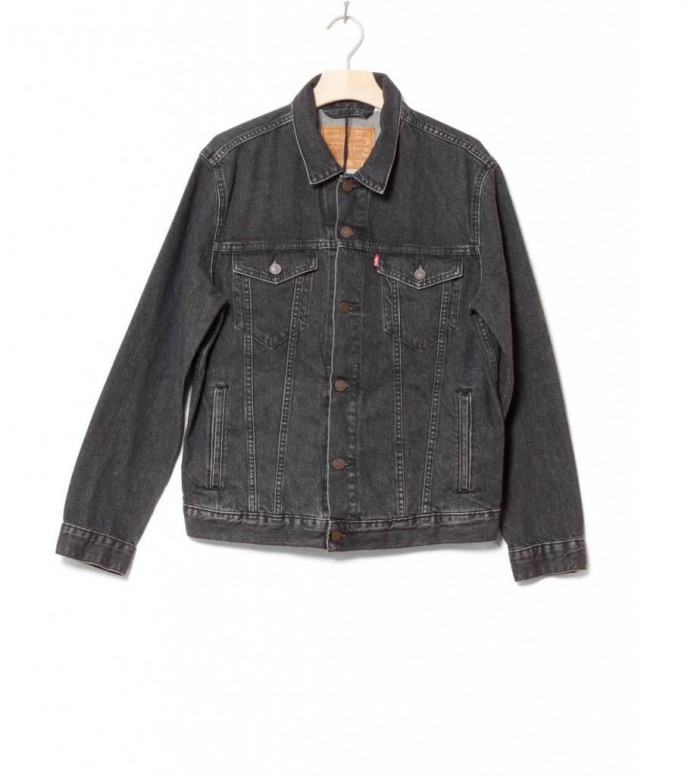 Levis Denimjacket The Trucker black fegin S