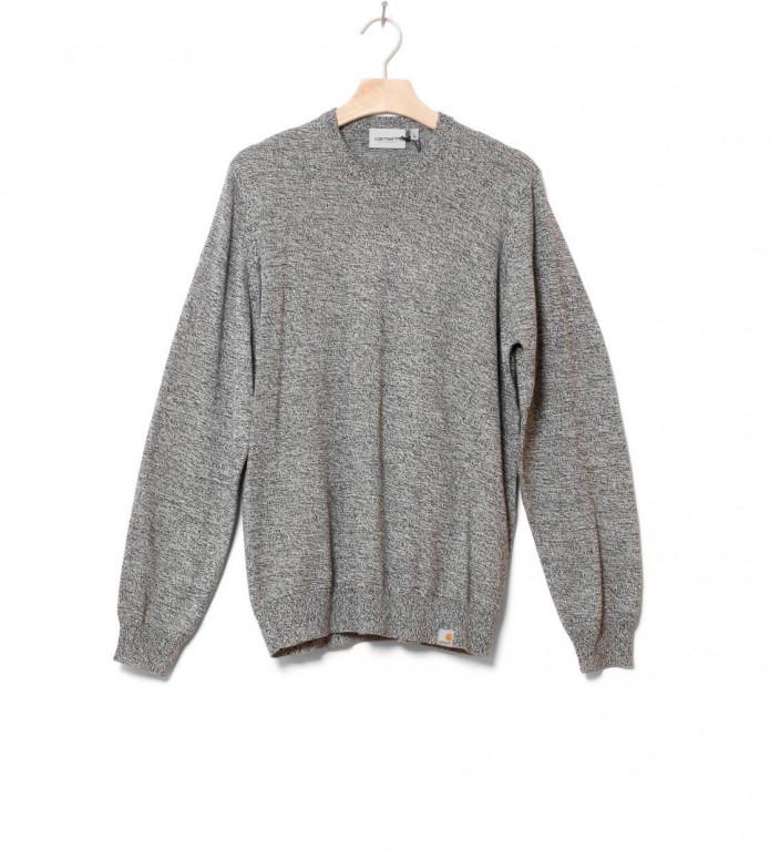 Carhartt WIP Sweater Toss black/broken white XL