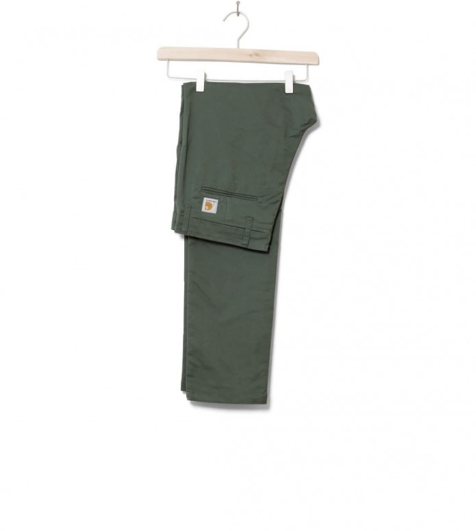 Carhartt WIP Pants Sid Lycra green adventure rinsed 31/32