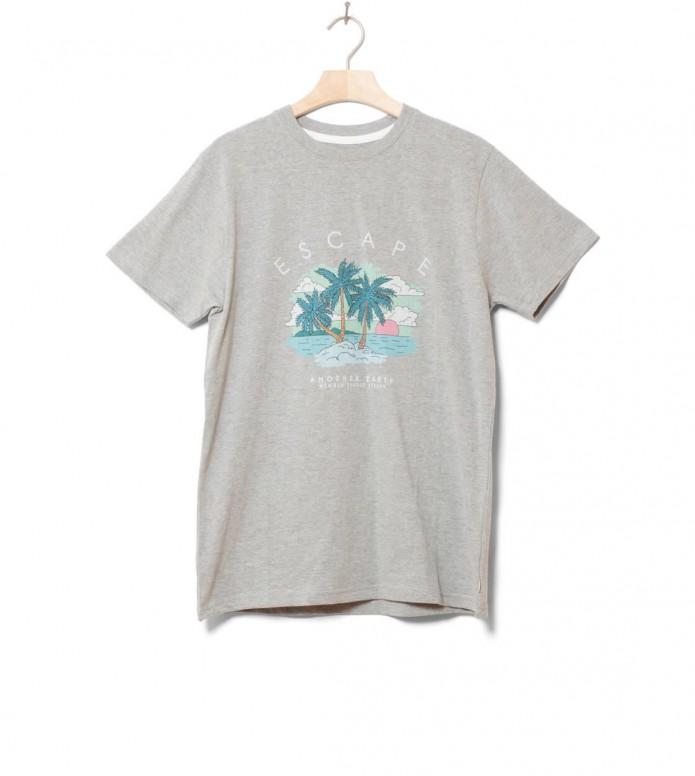 Wemoto T-Shirt Earth grey heather S