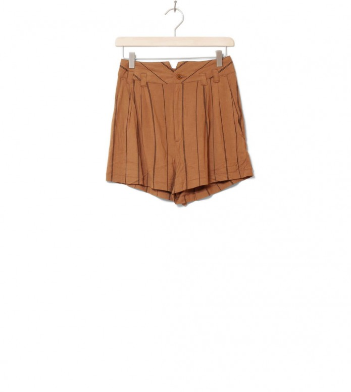 Wemoto W Shorts Seth Printed brown sugar-black XS