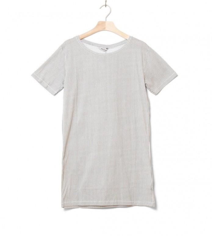 Wemoto W Dress Nika Printed white off-grey