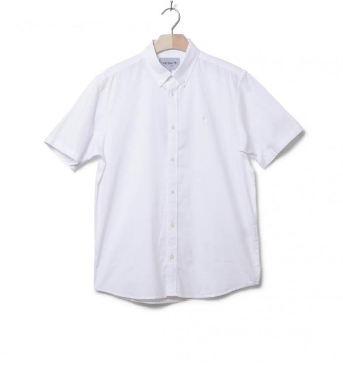 Carhartt WIP Shirt Lancaster Logo white S