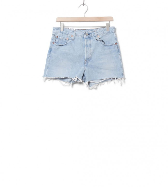 Levis W Shorts 501 High Rise blue weak in the knees