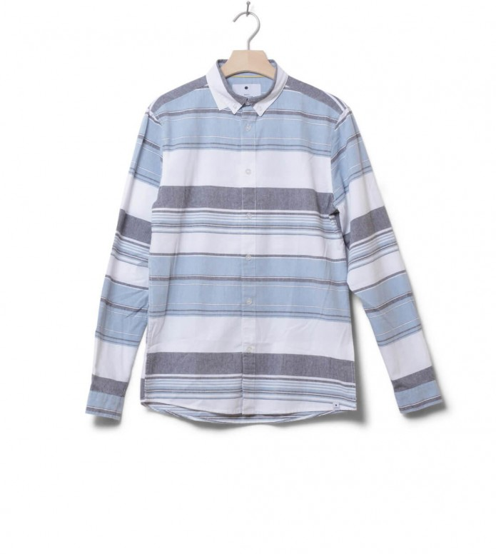 Revolution Shirt Striped 3714 blue M