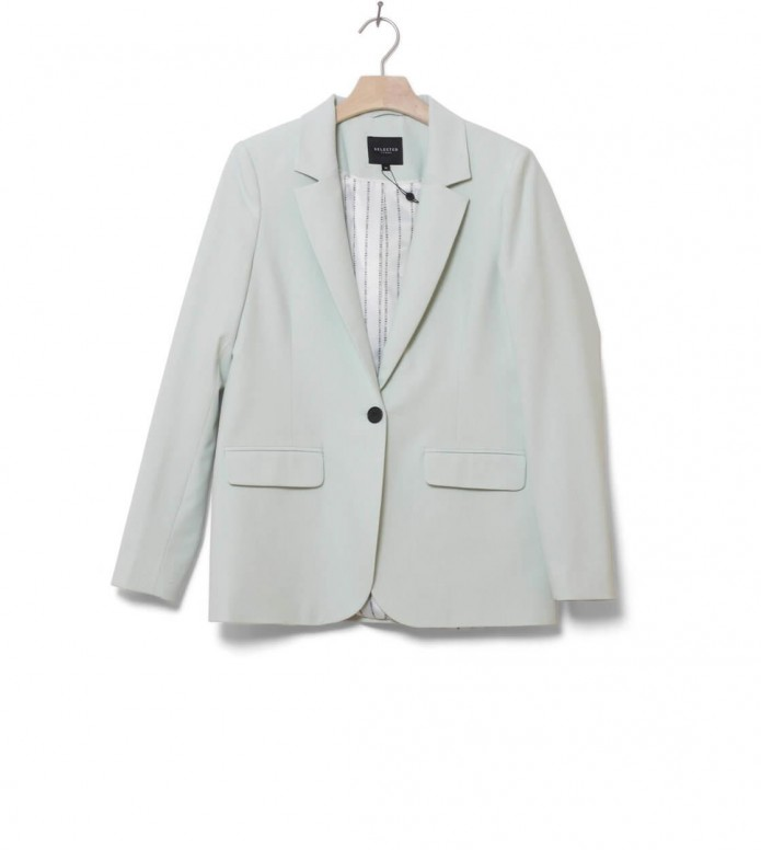 Selected Femme Blazer Slfolla green spray S