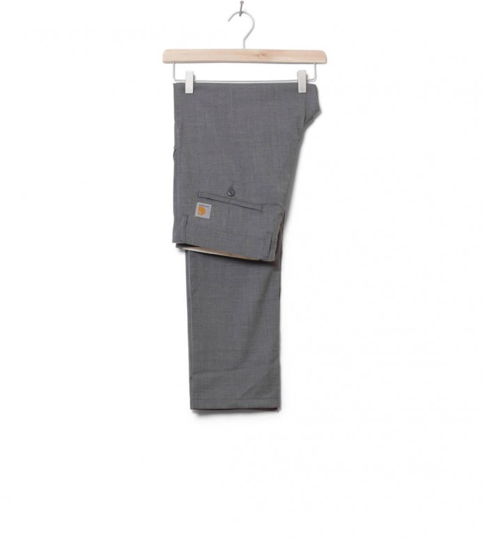 Carhartt WIP Pants Johnson Diamond grey light heather rigid 28/32