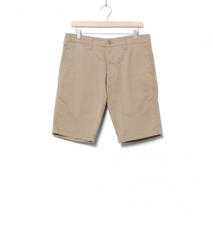 Carhartt WIP Shorts Sid Lamar beige leather rinsed 30