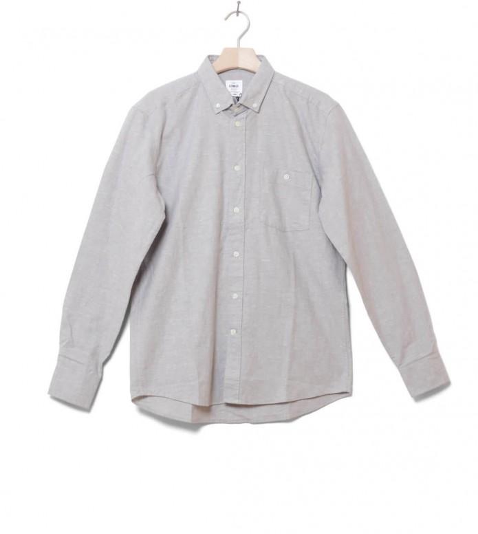 Klitmoller Shirt Benjamin grey light melange S
