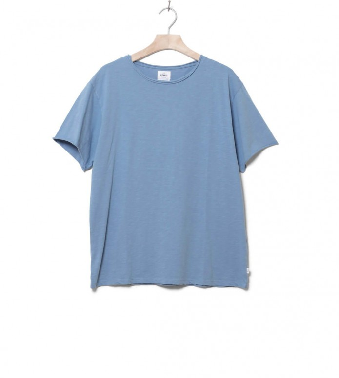 Klitmoller T-Shirt Sigurd blue heaven flame L
