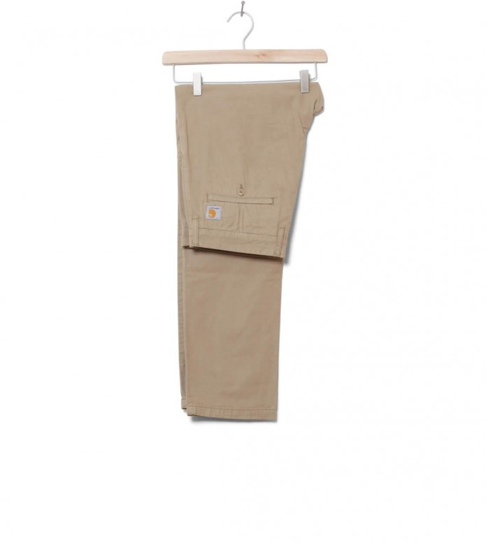 Carhartt WIP Pants Johnson Midvale beige leather 31/32