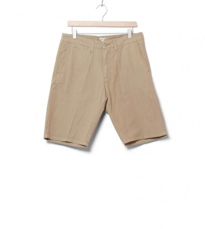 Carhartt WIP Shorts Johnson Midvale beige leather 30