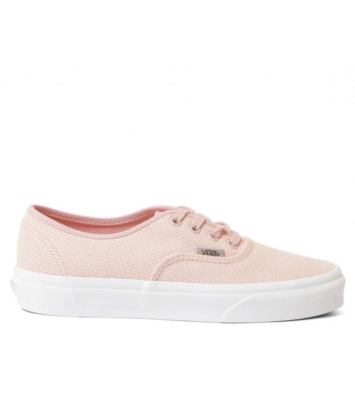 Vans Vans W Shoes Authentic Woven Check pink spanish villa/snow white