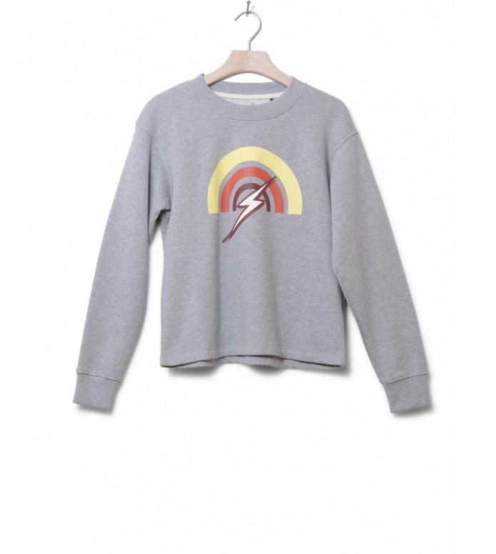 Lightning Bolt W Sweater Rainbow grey heather S