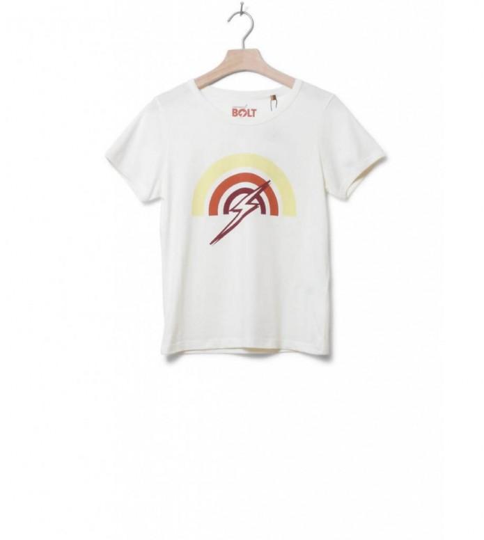 Lightning Bolt W T-Shirt Rainbow beige egret M