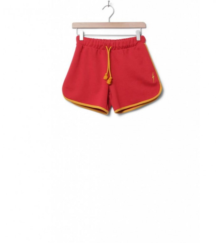 Lightning Bolt W Shorts Plain Sweat red pompeian S